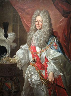 Antoine Nompar de Caumont - Antonin Nompar de Caumont, duc de Lauzun, portrait by Alexis Simon Belle
