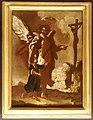 Antonio marinetti detto il chiozzotto (attr.), l'angelo custode mostra al fanciullo il crocifisso, versione due.jpg
