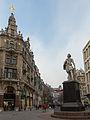 Antwerpen, standbeeld Antoon van Dyck op de Meir foto6 2014-12-14 10.55.jpg