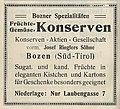 Anzeige Ringlers Konservenfabrik Bozen Pharusplan Bozen-Gries ca 1910.jpg