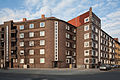Apartment buildings Am Hopfengarten Petersstrasse Hanover Germany.jpg