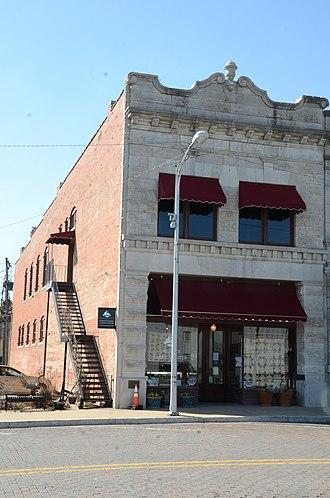 National Register of Historic Places listings in Benton County, Arkansas - Image: Applegate Drugstore