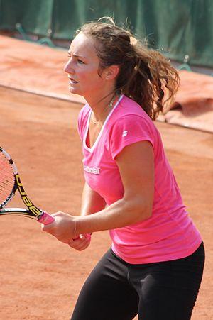 Manon Arcangioli - Arcangioli at the 2015 French Open