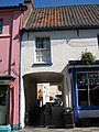 Archway through to Mitre Tavern Yard, North Walsham.jpg