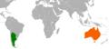 Argentina Australia Locator.png