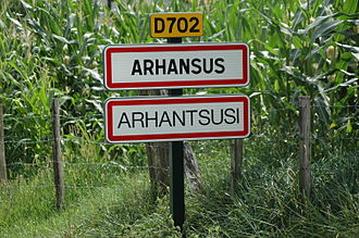 Arhansus - Arhansus sign