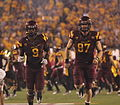 Arizona State player entrance vs USC 3284.jpg