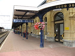 Arlon station bloem.JPG