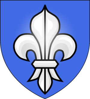 Earl of Bristol - Arms of Digby, Earl of Bristol: Azure, a fleur-de-lys argent