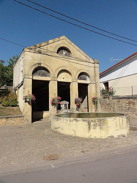Arrancy-sur-Crusne (Meuse) lavoir
