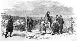 Battle of Cetate - Image: Arrival at Kalafat of the wounded from Citate