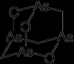 Organoarsenic chemistry - Image: Arsenicin A