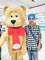 Arsh Sarao in Chandigarh in Elante mall.jpg