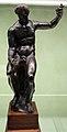 Arte romana con restauri moderni, divinità agreste (braccia di restauro).JPG