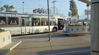 Harbor Gateway, Los Angeles - Metro Silver Line at the Harbor Gateway Transit Center