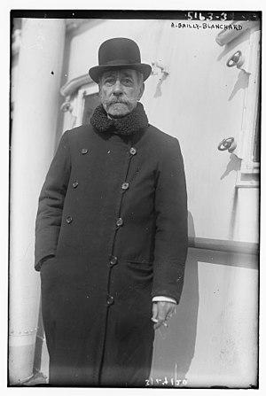 Arthur Bailly-Blanchard - Arthur Bailly-Blanchard in 1920
