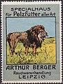 Arthur Berger, fur trader in Leipzig, c. 1910, brand advertisings (01).jpg