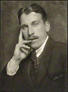 Arthur Bliss - photo by Herbert Lambert - ca. 1922.jpg