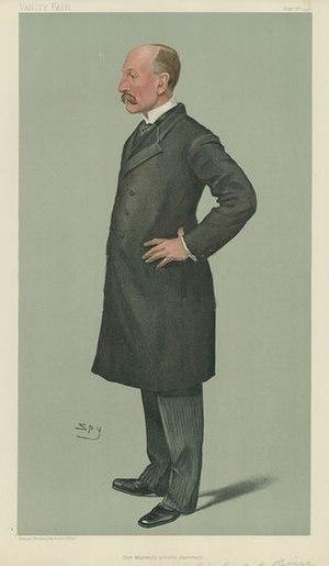 Arthur Bigge, 1st Baron Stamfordham - Image: Arthur John Bigge, Vanity Fair, 1900 09 06