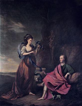 Arthur Wolfe, 1st Viscount Kilwarden - Arthur Wolfe, 1st Viscount Kilwarden and his wife Anne (Thomas Hickey,1769)