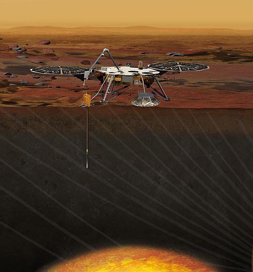 Artist's Concept of the InSight Lander