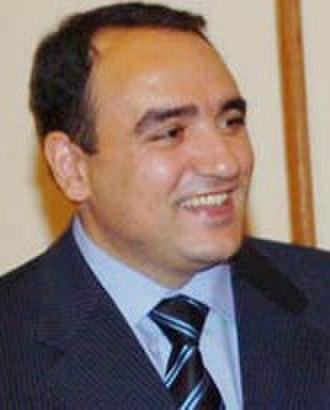 Armenian parliamentary election, 2012 - Image: Artur Baghdasaryan