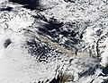 Ash plume from Eyjafjallajokull Volcano over the North Atlantic, A2010105.1330.2km.jpg
