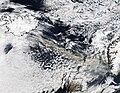 Ash plume from Eyjafjallajokull Volcano over the North Atlantic, A2010105.1330.2km.jpg