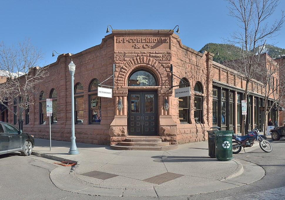 Aspen Cowenhaven Ute City Banque building