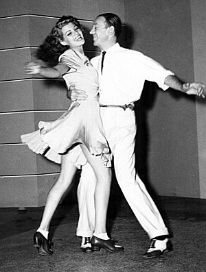 Rita Hayworth - With Fred Astaire in You Were Never Lovelier (1942)