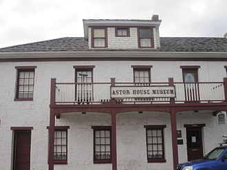 Golden, Colorado - Astor House Museum, the first stone building in Golden, was a boarding and rooming house from 1867 to 1971.
