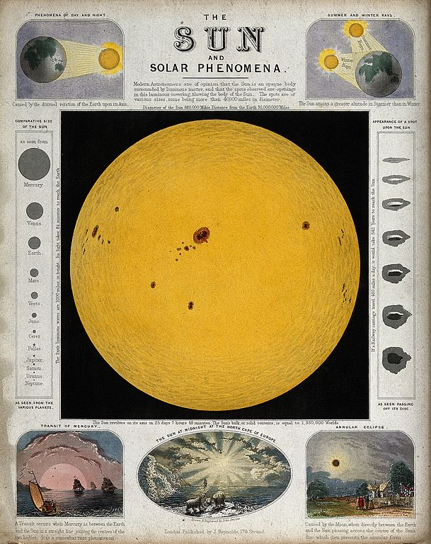 Fileastronomy A Diagram Of The Sun And Various Effects Of Sunl