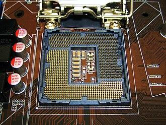 LGA 1156 - Image: Asus P7P55 M LGA 1156