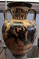 Attica, anfora con ercole e caco e cavalieri traci, da tharros (cabras) 01.JPG