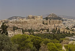 Attica 06-13 Athens 54 View from Philopappos - Acropolis Hill.jpg