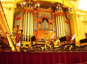 Auckland Town Hall - The organ after the restoration in 2010