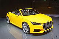 Audi TTS - Mondial de l'Automobile de Paris 2014 - 002.jpg
