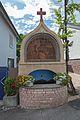 Aufsatz eines Heiligenhäuschens, Laufbrunnen - IMG 6756.jpg