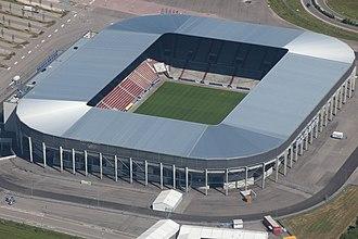 Augsburg Arena - Image: Augsburg Stadium, Germany (9655832783)