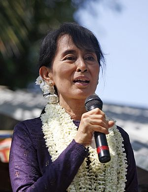 Honorary Canadian citizenship - Image: Aung San Suu Kyi 17 November 2011