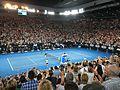 Australian Open 2017 Final - Roger Federer vs Rafa Nadel (32604614845).jpg