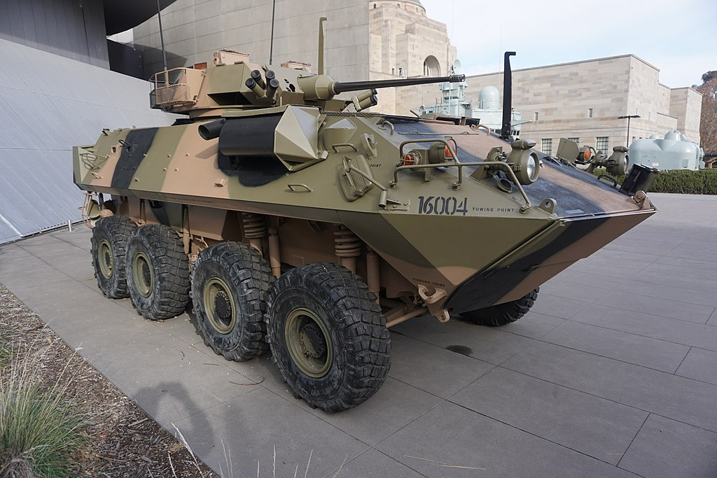 LAV-25 Australian Light Armoured Vehicle 2