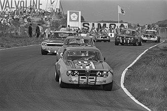 European Touring Car Championship - Image: Autoraces op circuit Zandvoort, om Zandvoort Trophy race voor toerwagens groep, Bestanddeelnr 923 7927