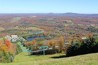 Endless Mountains - Autumn View From Elk Mountain