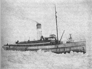 Apu (1899 icebreaker) - Image: Avance