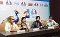 Avinash Arun, Director of Marathi film 'Killa' addressing a press conference, at the 45th International Film Festival of India (IFFI-2014), in Panaji, Goa on November 24, 2014.jpg