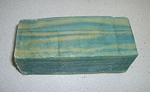 Azul e Branco Soap - A bar of blue-white Offenbach soap