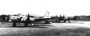 817th Expeditionary Airlift Squadron - Image: B 17G 44 8591 817th BS