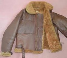 9fa1bfb0f45 Flight Jacket of a pilot of a B-17 bomber in WWII