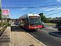 BAT route 12 bus in Randolph (2), July 2017.jpg